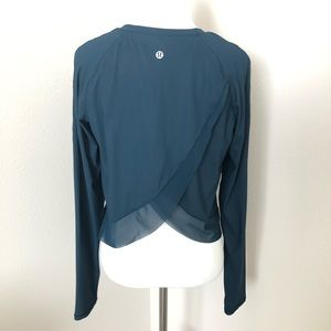NWOT Lululemon quick pace long sleeve in j…